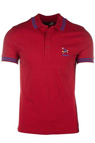 Love Moschino polo t-shirt maglia maniche corte uomo rosso EU M (UK 38) M 8 304 02 E 1692 O9