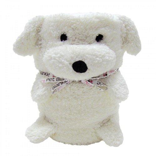 My Pet Blankie - Babydecke Kinderdecke Schmusedecke - Kuscheldecke für Kinder in vielen tollen Tier-Designs - Größe: 70 x 100 cm (Ernie der Hund)