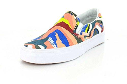 Herren Slip On Vans Classic Slip-On Slippers (abstract horizon) multi/