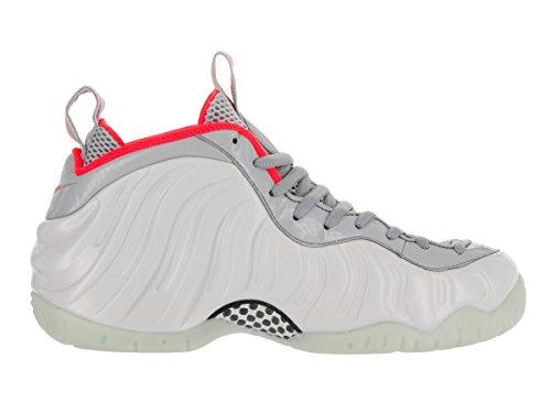 Nike Air Foamposite Pro Prm, Chaussures de Sport-Basketball Homme silver