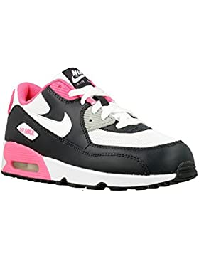 Nike Air Max 90 Mesh (Ps), Zapatillas Niñas
