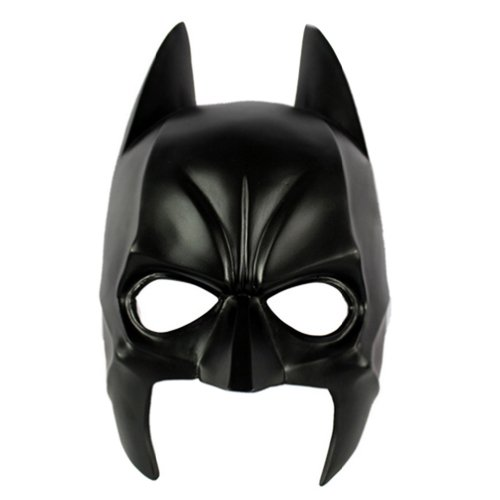 OMO Maske Hochwertige Batman Dark Knight Movie Harz Halloween Cosplay Schwarz