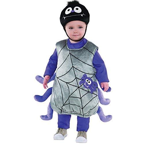 Itsy Bitsy Spider Kostüm - Amscan Kostüm, Itsy Bitsy Spider, 2-3