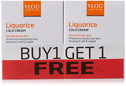 VLCC Liquorice Cold Cream, 50g (Buy 1 Get 1 Free)