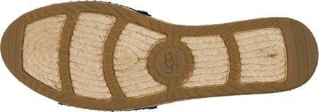 Ugg Australia Women's Cherry Exotic Sandals Woman Black Leather Noir