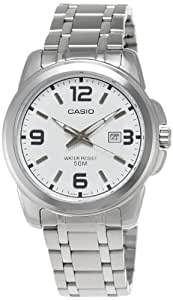 Casio Enticer Analog White Dial Men's Watch - MTP-1314D-7AVDF (A552)