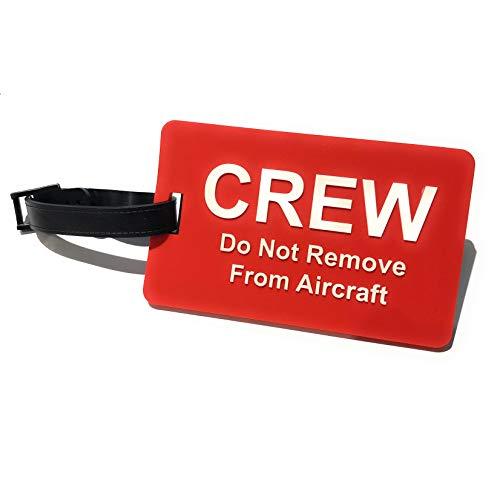 aviamart Koffer & Taschenanhänger, rot/weiß (Rot) - AVM-PVC-Crew-DNR