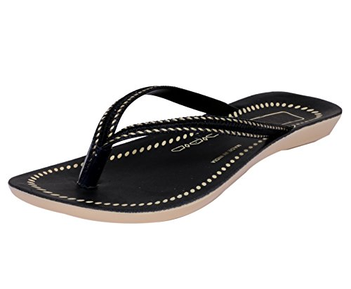 IndiWeaves Womens Cream/Pink Comfortable Flip Flop/House Slipper Size-4  available at amazon for Rs.275