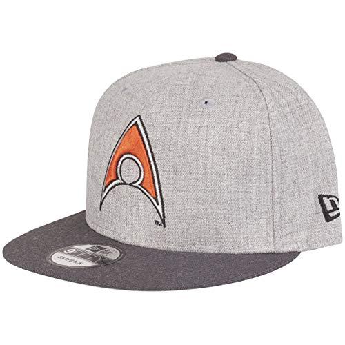 New era era - berretto con visiera dc comics aquaman 9fifty, colore: grigio grau taglia unica
