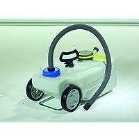 Comet Abwasser-Taxi mit Transportgriff, 25 Liter Volumen, Fahrbar durch Räder, Frisch und Abwasser Kanister