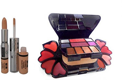 ADS Foundation Concealer And Makeup Kit (Set Of 2)