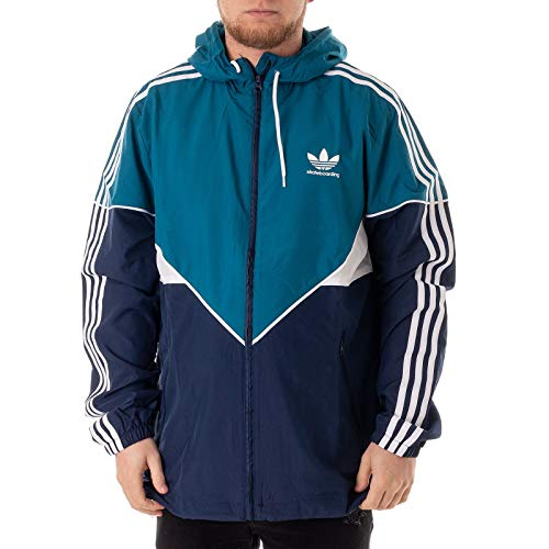 adidas Premiere Windbreaker real teal - Adidas Windbreaker