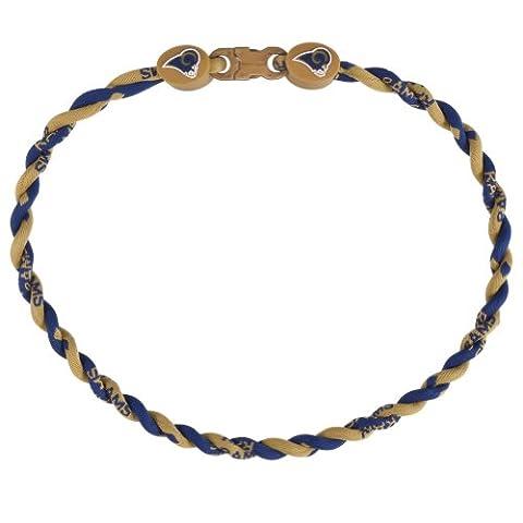 St. Louis Rams - Logo Titanium Twist Necklace