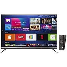 Daiwa 140 cm (55 Inches) 4K UHD Smart LED TV D55QUHD-M10 (Black) (2018 model)
