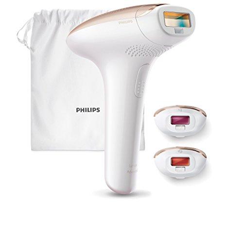 Philips Lumea Advanced SC1999/00   Sistema IPL por luz pulsada para cuerpo  zona del bikini y cara  de 250000 pulsos  con sensor de piel