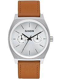 Nixon Unisex-Armbanduhr Analog Quarz Leder A9272310