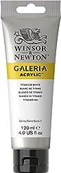 Winsor & Newton 120ml Galeria Acrylic Paint - Titanium White