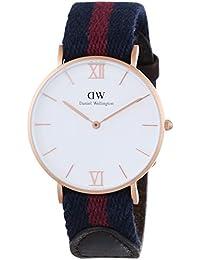 Daniel Wellington  0551DW - Reloj de cuarzo para mujer, con correa de tela, color multicolor