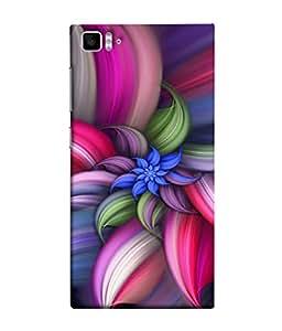 PrintVisa Designer Back Case Cover for Xiaomi Mi3 :: Xiaomi Mi 3 (Wow Design Of Colourful Floral Pattern)