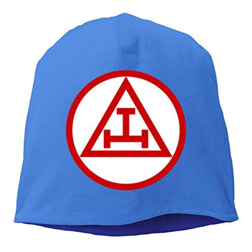 KuaiLeZai Royal Arch Masonry Men Women's Hedging Cap Denim Cotton Adjustable Hat Custom Visor Ash Blue (Royal Blue Orchids)