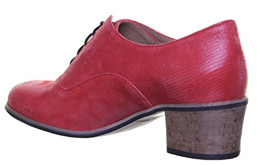 Justin Reece 9500donna, in pelle opaca, Red SS19