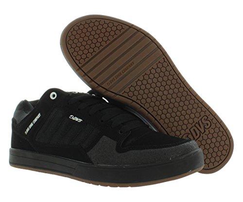 DVS Herren Portal+ Skateboardschuhe Black Nubuck