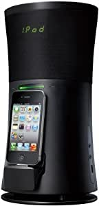 JVC Dock Station d'accueil avec USB, Tuner FM, réveil - Pour iPhone® 3 ou 4 et iPod® Classic, Nano, Touch 1ère, 2ème, 3ème et 4ème génération - JVC NX-SA1BE  USB, Tuner FM, réveil