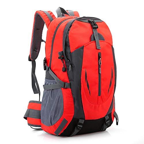 VEIYI Wanderrucksack Damen, Wasserdichter Trekkingrucksack Fahrradrucksack Herren Outdoorrucksack Daypack für Sport Reise Camping Klettern Radfahren Reiten 52 x 32 x 18cm, 40L
