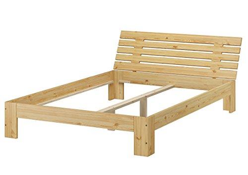 Erst-Holz® Französisches Bett 140 x 200 cm Kiefer massiv ohne Zubehör 60.67-14-Tina oR