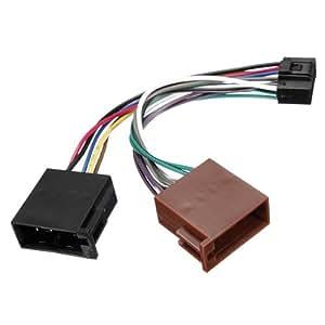Stéréo 16pin ISO Autoradio Câblage connecteur de câble pour KENWOOD