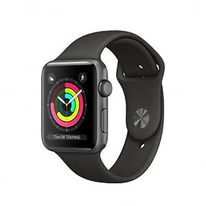 Apple Watch Series 3 OLED GPS (satélite) Gris reloj inteligente - Relojes inteligentes (OLED, Pantalla táctil, GPS (satélite), 18 h, 32,3 g, Gris)