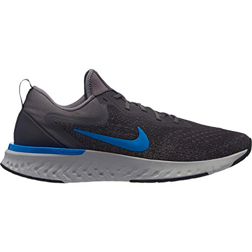 Nike Herren Odyssey React Laufschuhe, Mehrfarbig (Thunder Grey/Blue Hero/Gunsmoke/Black 008), 47 EU