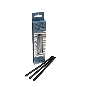 Winsor & Newton Medium Charcoal Stick (Pack Of 3) 0