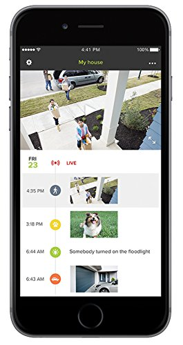 Netatmo Presence Outdoor Security Camera with Person Animal and Car Recognition – Black Aluminium