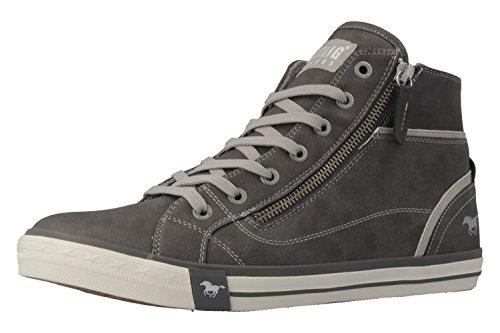 Mustang 1209502, Sneakers Hautes femme Gris