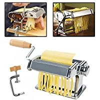 Banggood Stainless Steel 3 in 1 Pasta Maker Roller Machine for Spaghetti Noodle