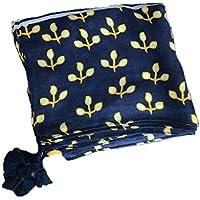 CYSJW-El Verano De Bufandas La Mujer Estampados Telas De Algodón Flecos Grandes Chales Pañuelos De Cuello Doble Uso Protector Solar Viajar