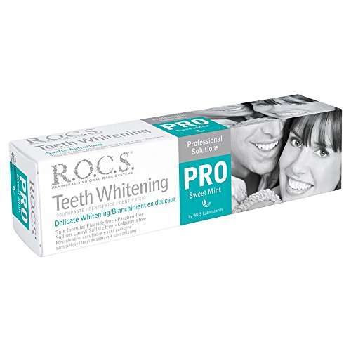 R.O.C.S. Teeth Whitening Sweet Mint 100ml