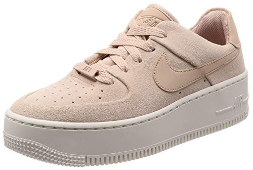 Nike W AF1 Sage Low, Zapatos de Baloncesto para Mujer, Particle Beige/Phantom 201, 40 EU