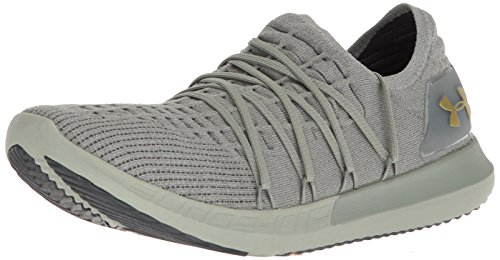 Under Armour UA Speedform Slingshot 2, Herren Laufschuhe, Grün (Grove Green 302), 42.5 EU (8 UK) (Under Grün Laufschuhe Armour)