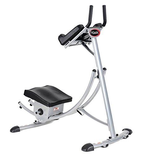 Fitness House FH Coaster - Aparato para abdominales, color gris, talla...