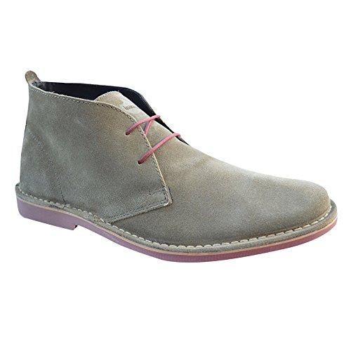 Icona, Unisex Adulto Desert Boots Taupe