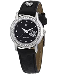 GO Girl Only Damen-Armbanduhr Analog Leder 697540