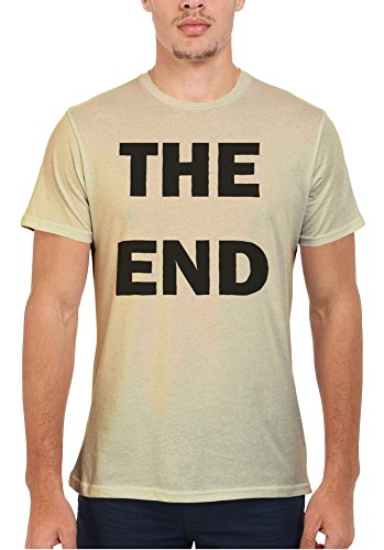 The End Game Over Movie Cool Men Women Damen Herren Unisex Top T Shirt Sand(Cream)