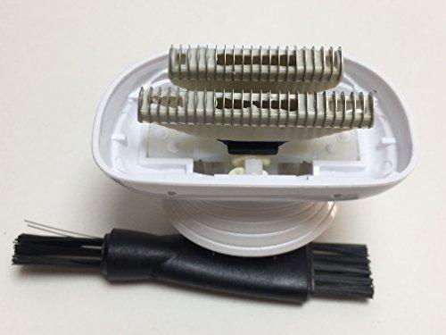 New Ladyshave Shaver head Blade Base Stand Cutter For Philips HP6366 HP6368 HP6370 Rasur Kamm Klingen Razor head Rasierer Rasierkopf Ersatz Zubehör Teile(2X Blades/Cutter and 1X Blade base)