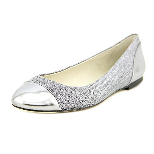 Michael Michael Kors Shala Ballet Toile Chaussure Plate Gunmetal Glitter