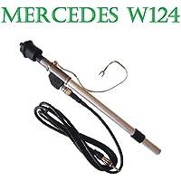 Leaftree Power Antenne Antenne Mast AM FM Radio Antenne 92-02 Mercedes BZ W140 W124 W202 Silber