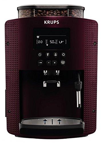 Krups EA815G Espresso Kaffeevollautomat Bordeaux-Rot/Schwarz