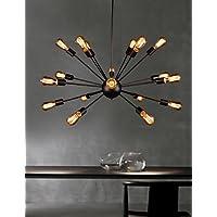 Goud lampadario lampadari mini stile rustico/lodge/retro soggiorno/camera/sala da pranzo/sala di studio/ufficio metallo, 220–240V