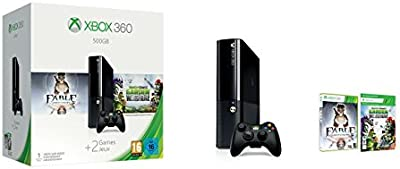 Xbox 360: Console 500 Gb + Plants Vs. Zombies + Fable Anniversary [Bundle]